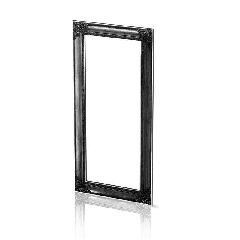 medium black frame acrila furnitures. Black Bedroom Furniture Sets. Home Design Ideas