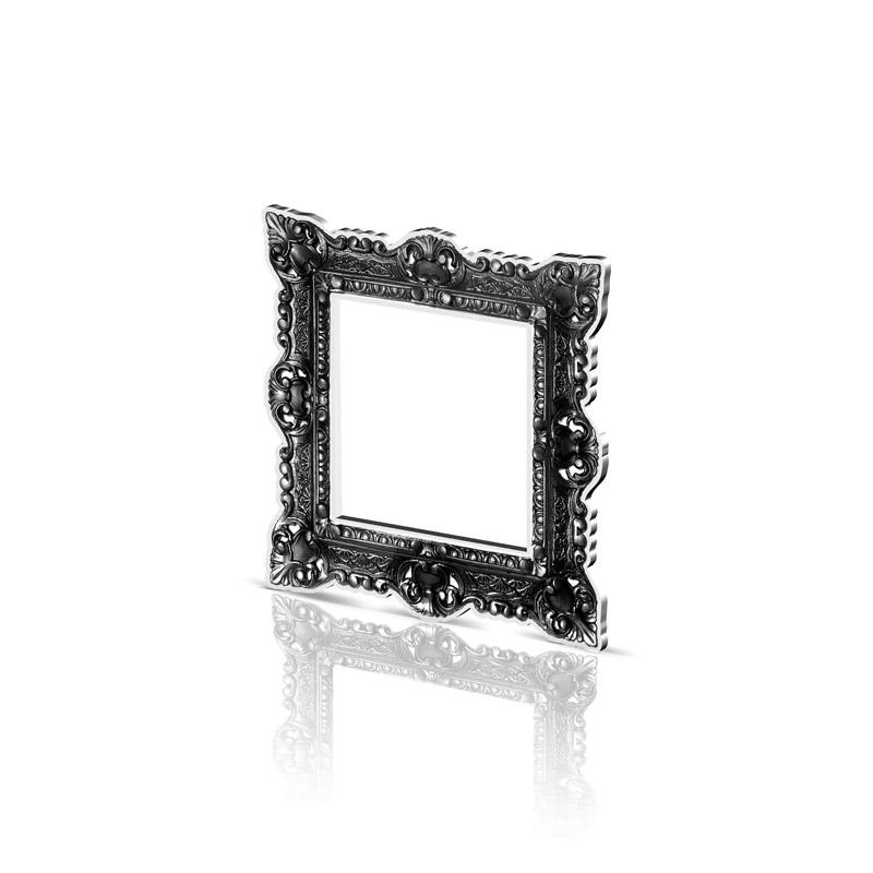 small black frame acrila furnitures. Black Bedroom Furniture Sets. Home Design Ideas