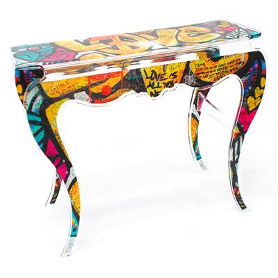street art archives acrila furnitures. Black Bedroom Furniture Sets. Home Design Ideas