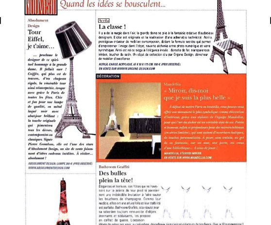 Presse acrila 59 paris match