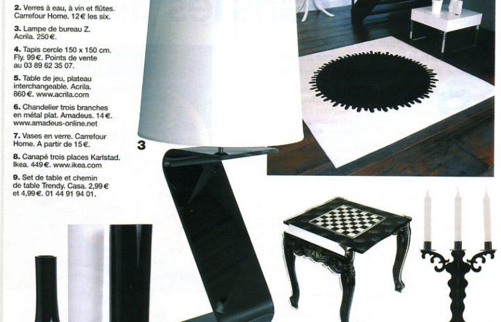 Newspaper articles acrila furnitures