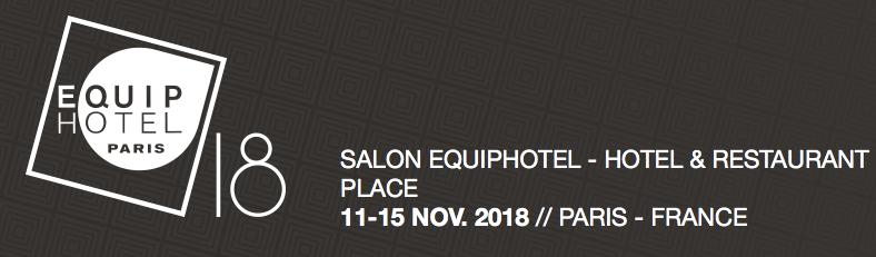 Equip'Hotel show, November 11 to 15, 2018  - Acrila Furnitures