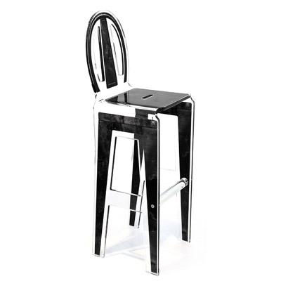 tabouret haut factory acrila. Black Bedroom Furniture Sets. Home Design Ideas