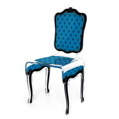 chaise charleston acrila. Black Bedroom Furniture Sets. Home Design Ideas