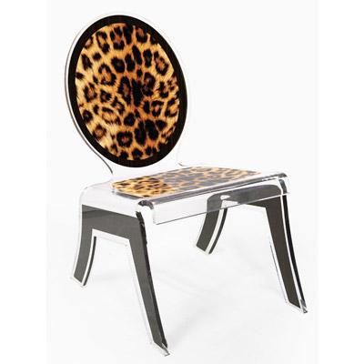 Relax wild leopard