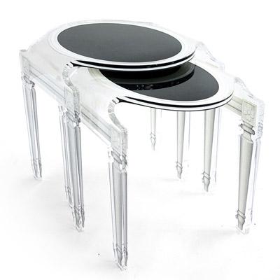 table gigogne sixteen acrila. Black Bedroom Furniture Sets. Home Design Ideas
