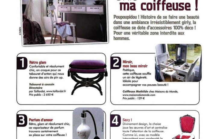 Presse acrila new deco magazi