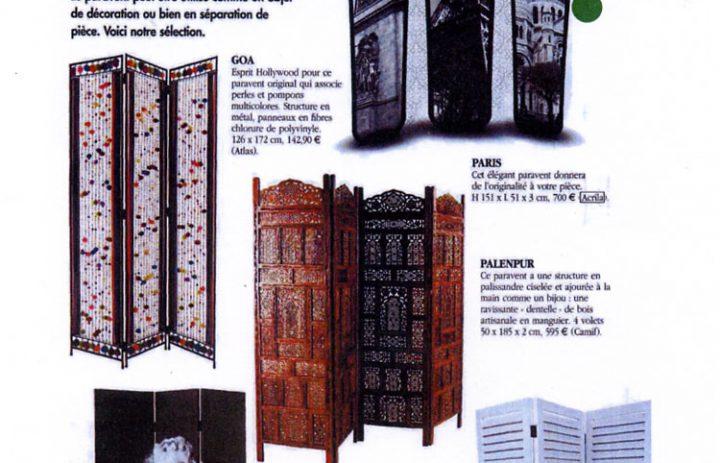 Presse acrila maisons nov 2007