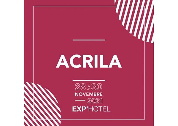Acrila exp hotel bordeaux 2021
