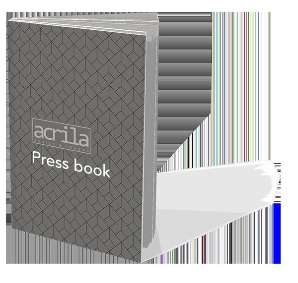 Press book acrila